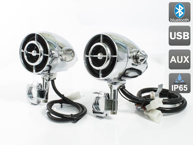 Аудиосистема на мотоцикл